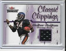 WALTER PAYTON 2002 FLEER THROWBACKS CLASSIC CLIPPINGS JERSEY