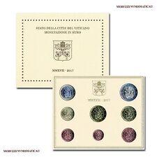 MORUZZI - Vatican François 1er Série officielle en coffret 2017 FDC / BU