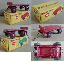 Dinky Toys 429 Trailer die cast 1/43 red