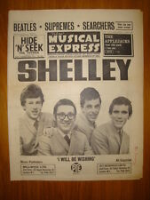 NME #928 1964 OCT 23 SHELLEY BEATLES SUPREMES SEARCHERS