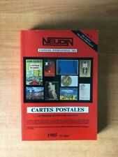 L'OFFICIEL INTERNATIONAL DES CARTES POSTALES 1985 le premier annuaire m