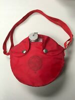 Vintage Boy Scouts of America Original Red Water Canteen W/Shoulder Strap