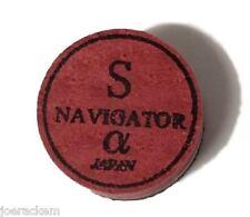 1 (one) Navigator Alpha (SOFT = S) Pool Cue Tip - 14mm - Free US Ship