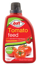 Doff Liquid Tomato Plant Feed 1L With Seaweed & Magnesium Concentrate
