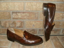 Johnston & Murphy Brown Domani Loafers Mens 11 M / Italy Mint!