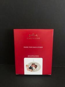 Hallmark Keepsake 2020 Made For Each Other Wedding Photo Holder Frame Ornament