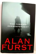 THE FOREIGN CORRESPONDENT Alan Furst AUTHOR-SIGNED Hardback w/Dust Jacket MINT