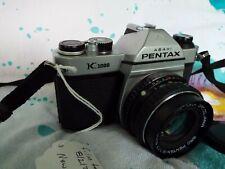 Pentax K1000 SLR with 50mm Pentax Lens  FILM TESTED
