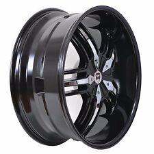 4 GWG WHEELS 22 inch Black Chrome SPADE Rims fits 6x139.7 ET18 INFINITI QX56