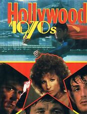 Hollywood 1970's by David Castell HC DJ Gallery Books 1986 Printed in Italy