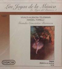 Las Joyas de la Musica - Vivaldi, Albinoni, Tele - Lo Mejor del Barroco - 4 (CD)