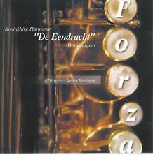 CD album  - KONINKLIJKE HARMONIE DE EENDRACHT ( NL) - FORZA MARCHING BRASS BAND