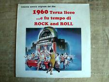 1960 terza liceo...e fu tempo di rock  and roll   colonna sonora  lp 33