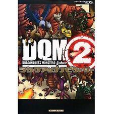 Dragon Warrior (Quest) Monsters Joker 2 Rank Up Navigator book / DS