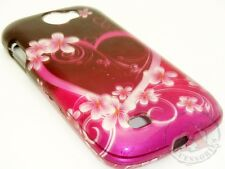 For Samsung Exhibit 2 II 4G HARD Protector Case Snap on Phone Cover Purple Love
