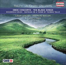 Vaughan Williams: Oboe Concerto; Ten Blake Songs, New Music