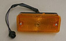 1967-68 Chevrolet Chevy Truck Parking light assembly LH amber lens