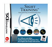 Sight Training (Nintendo DS, 2008) Cartridge Only