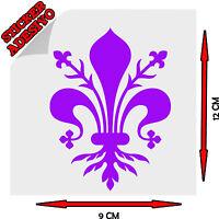 Sticker Adesivo Giglio Firenze Fiorentina Viola Calcio Sport Tuning Auto Moto