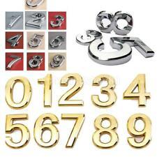 Hausnummer Schild Hausnummernschild Türschild Tür 0-9 Nummer Dekor