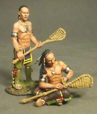 JOHN JENKINS MONONGAHELA WIM-10 WOODLAND INDIAN LACROSSE PLAYERS MIB