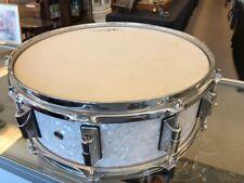 Taye Drums Original 14x6 Studio Maple Snare Drum In pearl white Finish