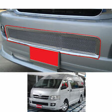 For Toyota Hiace Commuter 2005-2011 Chrome Front Bumper Net Grille Grill ABS V.1