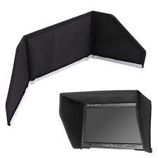 Sun Hood Shade Visor For 7inch LCD Monitor Display Camera Phantom 2 FPV Black TR