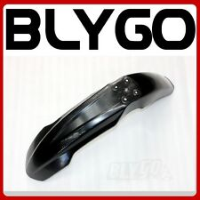 Black Plastic Front Wheel Mud Guard Fender CRF250 Style PIT PRO Trail Dirt Bike