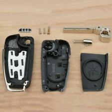 For Audi A2/A3 A4 A6 A8 TT Remote Uncut NEW 3 Button Flip Fob Car Key Case Shell