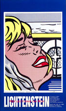 Leo Casteelli Poster 20.8X 34.7cm Pop Art Roy Lichtenstein 1987//89 ART P:91