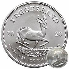 ++ Krügerrand 2020 - 1oz Silber / Ag - 1 Rand / Südafrika ++