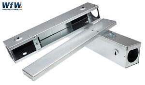 Rattenköderstation, Rattenbox, 400 mm, verzinktes Stahlblech, Köderstation