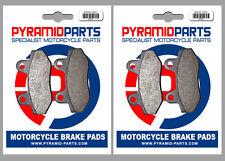 WK Bikes 125 Cruiser (4T) 2015 Front & Rear Brake Pads