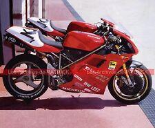 DUCATI 916 SBK Super Bike Superbike 1994 Fiche Moto 000145