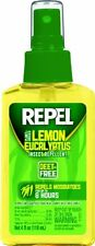Repel Lemon Eucalyptus Natural Insect Repellent, 4-Ounce Pump Spray Brand New