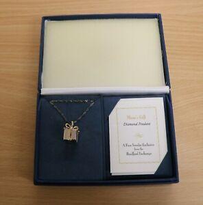 The Bradford exchange Mom's Gift diamond necklace