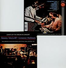 JIMMY McGRIFF , GROOVE HOLMES  in concert / 2007 REMASTER