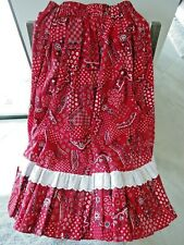 New listing Handmade Prairie Skirt Square Dancing Medium New