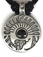 AMERICAN INDIAN RATTLESNAKE PEWTER PENDANT MENS BOYS WOMENS GIRLS NECKLACE P0494