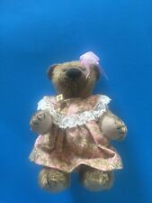 "DEB CANHAM  ""CORA""  SMALL BEAR-5 "" MOHAIR- BEAR SHOW SPECIAL 2003- JOINTED"