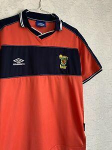 SCOTLAND 1999 2000 Away Football Shirt Jersey Top Size M UMBRO Men RARE