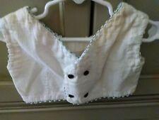 Vintage 1950s Children's Shirt Girl's Crop Top White Bird image on back #302