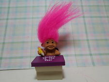 "STUDENT OF THE YEAR - 2"" Russ Honor Roll Troll Doll - NEW IN ORIGINAL WRAPPER"