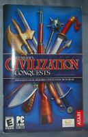 User Manual Guide Booklet Sid Meier's Civilization III Conquests Expansion PC