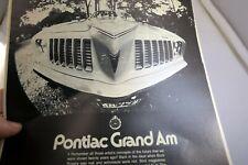 Pontiac grand Am Car Magazine clippings Advertisement  Ad