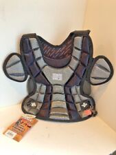 TRACE WTCP-12 GIRL'S BLACK  SOFTBALL CATCHERS CHEST PROTECTOR  Age 8-12 NEW