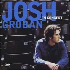 JOSH GROBAN : JOSH GROBAN IN CONCERT (CD & DVD) (SMART PAK) (CD) sealed