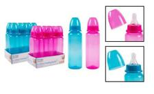 First Steps Pack of 6 250ml Baby Bottles Silicone Teat Perfect for New Borns