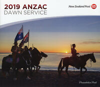 New Zealand NZ 2019 FDC MNH WWI WW1 Anzac Dawn Serv 6v Set M/S Pres Pack Stamps